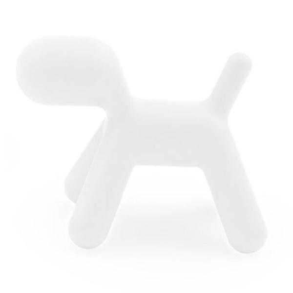 Magis Design Me Too Puppy L Hund Kinderhocker weiss