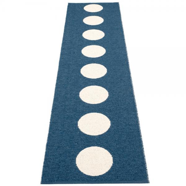 Pappelina Vera Ocean Blue 70x300cm Teppich & Badvorleger denim