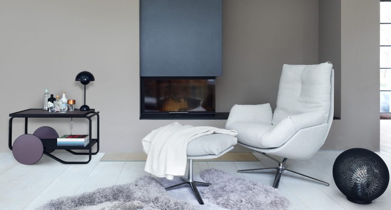 COR Cordia Lounge Relaxsessel Lesesessel Stoff