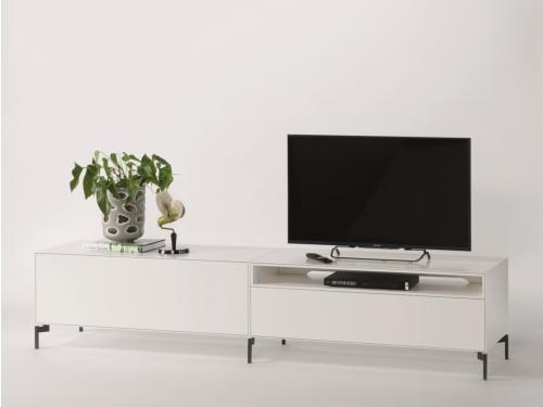 Piure NEX BOX TV/HiFi-Möbel 240 x 50,5 x 48 cm weiss matt