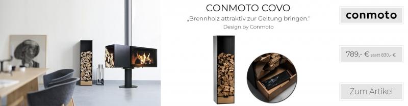 CONMOTO COVO Brennholzregal HPL anthrazit