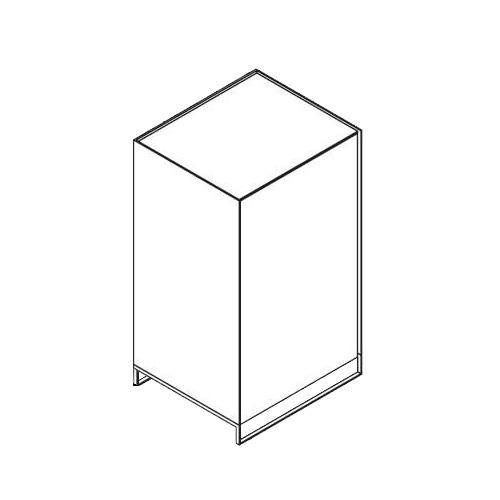 Möller Design LEAN BOX K601ET100 Kommode mit Tür & 2 Fachböden Lack matt