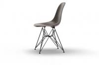 Vitra Eames Fiberglass Side Chair DSR elephant hide grey UG: basic dark