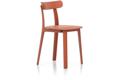 Vitra All Plastic Chair Stuhl backstein