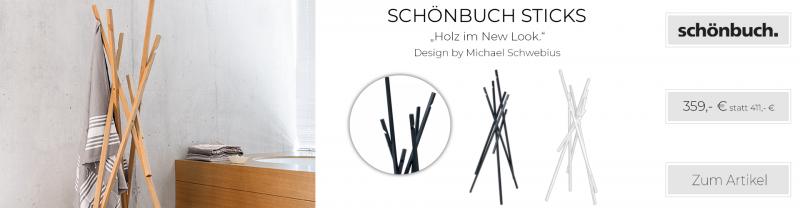 Schönbuch Sticks Garderobenständer (166 cm)