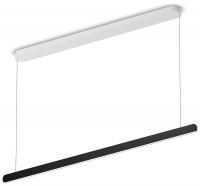 Occhio Mito Volo Linear 140 Up wide Pendelleuchte schwarz