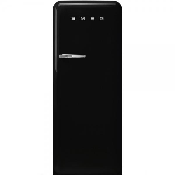 SMEG Retro-Style Standkühlschrank 50er Jahre schwarz FAB28LBL3 / FAB28RBL3