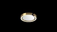 Occhio Mito Soffitto 20 Narrow Air-Steuerung Up Deckenleuchte bronze