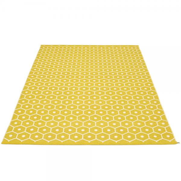 Pappelina Honey Mustard 180x260 Teppich & Badvorleger senf