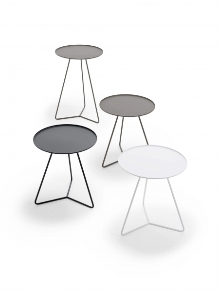 Möller Design Steely Beistelltisch Ø 40 cm & H 60 cm