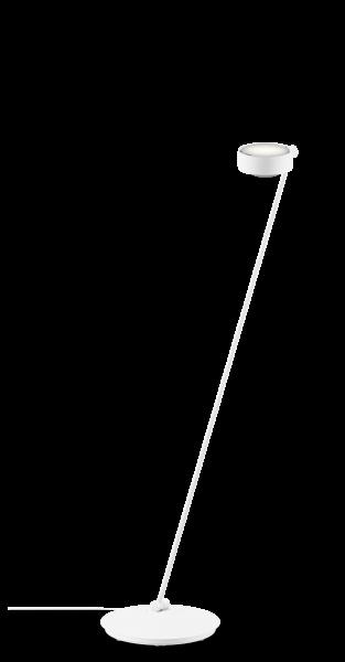 Occhio Sento E LED Lettura 125 Fuß rechts o. links weiß matt