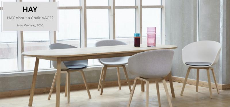 Hay About a Chair ACC22 Armlehnen Schalenstuhl skandinavisch
