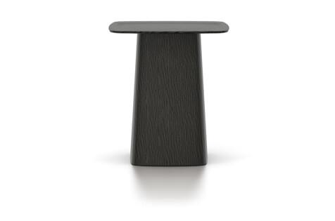 Vitra Wooden Side Table Beistelltisch medium Eiche dunkel