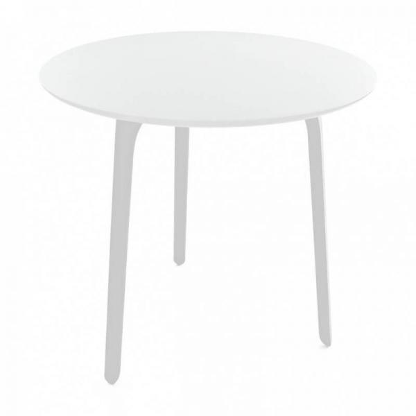 Magis Design Table First Outdoor Esstisch rund 80 x 80 x 73 cm weiss