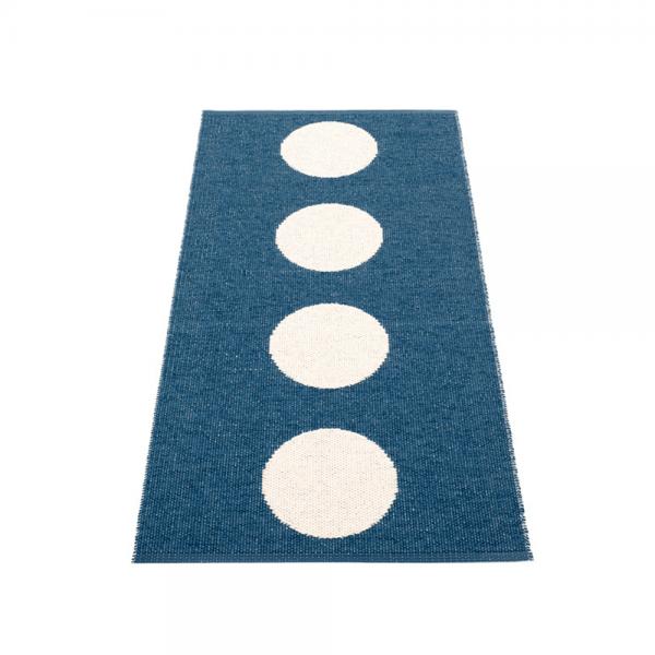 Pappelina Vera Ocean Blue 70x150cm Teppich & Badvorleger denim