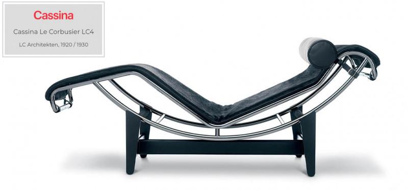 Cassina Le Corbusier LC4 Liege