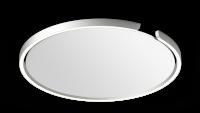 Occhio Mito Soffitto 60 Narrow Air-Steuerung Up Deckenleuchte silber matt