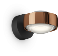 Occhio Sento D LED Verticale Up schwarz matt & rose gold