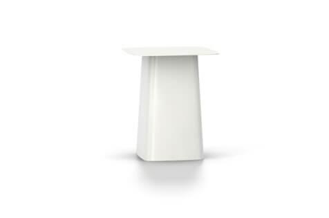 Vitra Metal Side Table Beistelltisch klein weiss