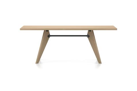 Vitra Table Solvay Esstisch Eiche natur massiv geoelt 200 cm natur