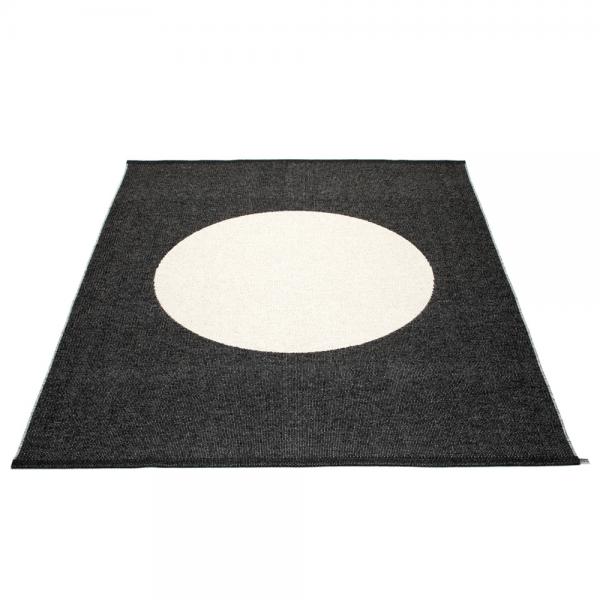 Pappelina Vera ONE Black 180x230 Teppich & Badvorleger schwarz