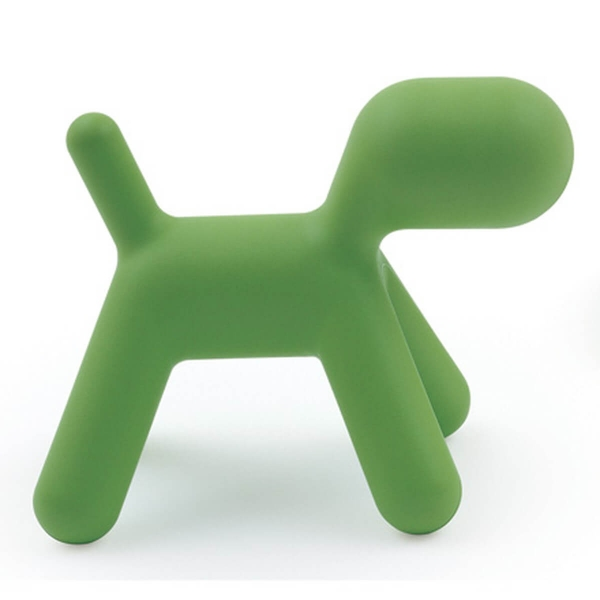 Magis Design Me Too Puppy L Hund Kinderhocker grün