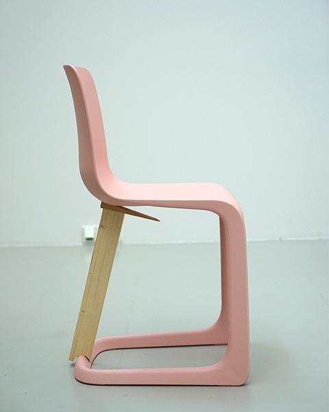 Vitra EVO Chair Freischwingerstuhl Fertigung 1
