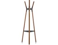 Magis Design Steelwood Coat Stand Garderobenständer Nussbaum