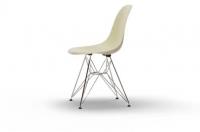 Vitra Eames Fiberglass Side Chair DSR parchment UG: chrom