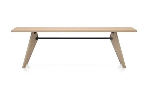 Vitra Table Solvay Esstisch Eiche natur massiv geoelt 240 cm natur