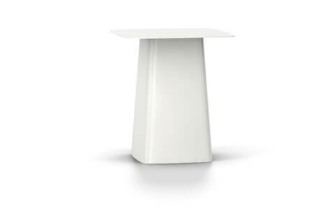 Vitra Metal Side Table Beistelltisch medium weiss