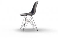 Vitra Eames Fiberglass Side Chair DSR navy blue UG: chrom
