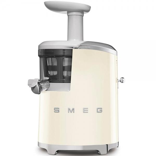 SMEG Retro-Style Slow Juicer Entsafter SJF01CREU creme