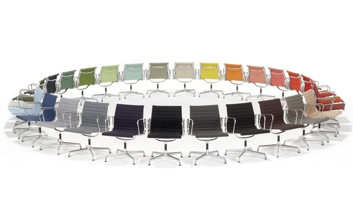 Vitra Aluminium Chairs Farbgebungen