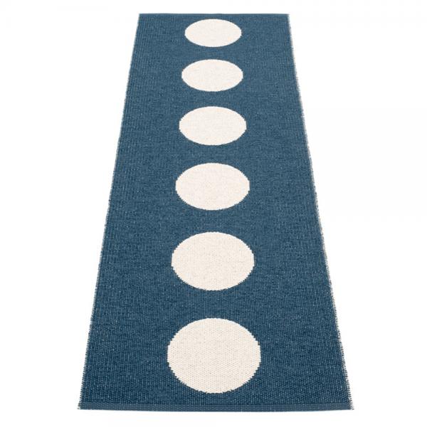 Pappelina Vera Ocean Blue 70x225cm Teppich & Badvorleger denim