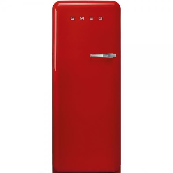 SMEG Retro-Style Standkühlschrank 50er Jahre rot FAB28LRD3