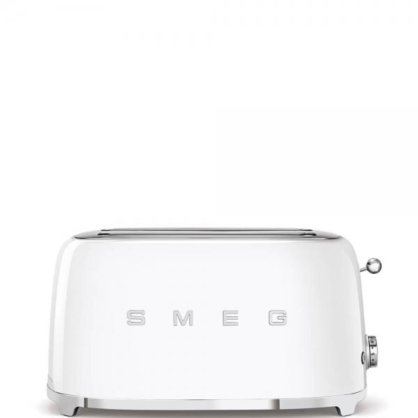 SMEG Retro-Style 2-Scheiben-Toaster, lang TSF02WHEU weiss