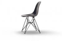 Vitra Eames Fiberglass Side Chair DSR navy blue UG: basic dark