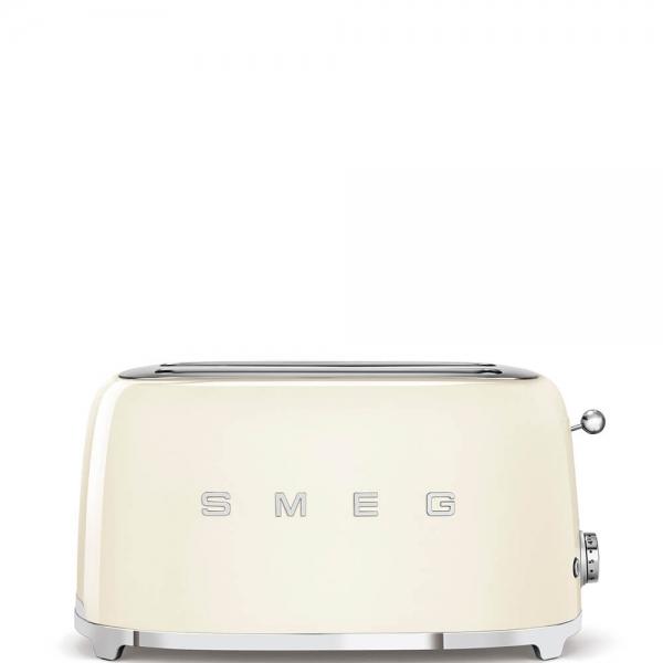 SMEG Retro-Style 2-Scheiben-Toaster, lang TSF02CREU creme