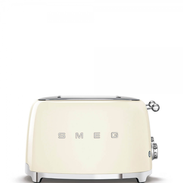 SMEG Retro-Style 4-Scheiben-Toaster TSF03CREU creme
