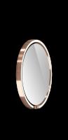 Occhio Mito Sfera 40 Wide mit klarem Spiegel rose gold