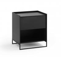 Möller Design LEAN BOX K501S Kommode mit 1 Schubkasten Lack matt