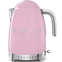 SMEG Retro-Style Wasserkocher variabler Temeratursteuerung 50er Jahre cadillac pink KLF04PKEU