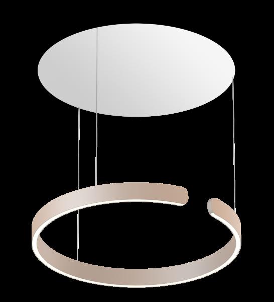 Occhio Mito Sospeso 60 Up Variable Air-Steuerung gold matt