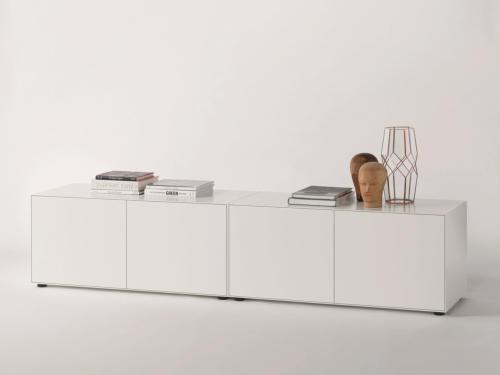 Piure NEX PUR BOX Sideboard 240 x 525 x 48 cm weiss