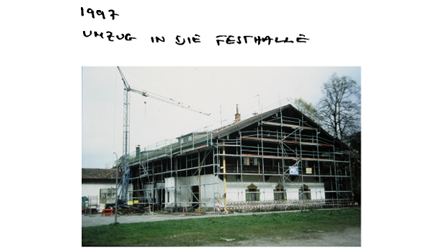 1997 Umzug Festhalle von Nils Holger Moormann