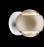 Occhio io verticale Volt D LED Air-Steuerung Wandleuchte gold matt / weiss matt