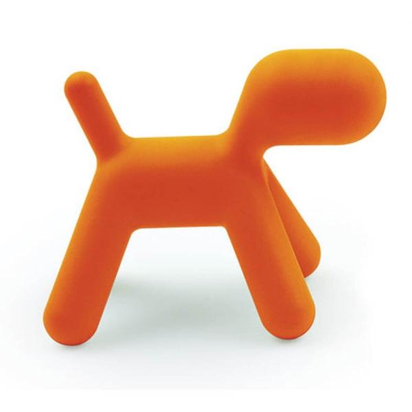 Magis Design Me Too Puppy L Hund Kinderhocker orange