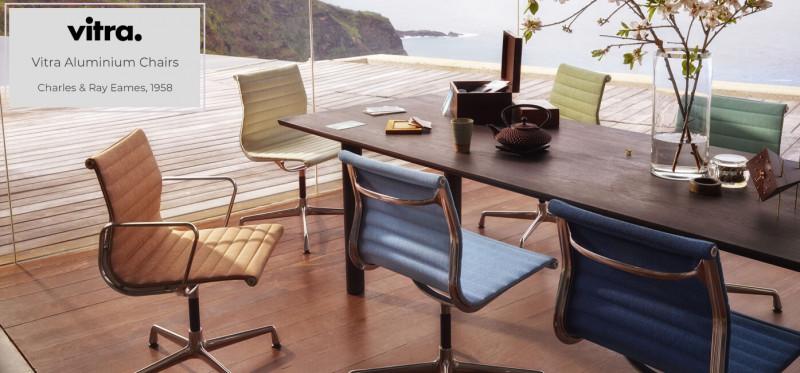 Vitra Eames Aluminium Chairs Charles & Ray Eames 1958