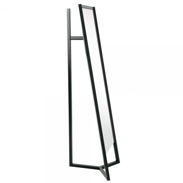 Schönbuch CLUB Garderobenständer mit Spiegel schwarz lackiert